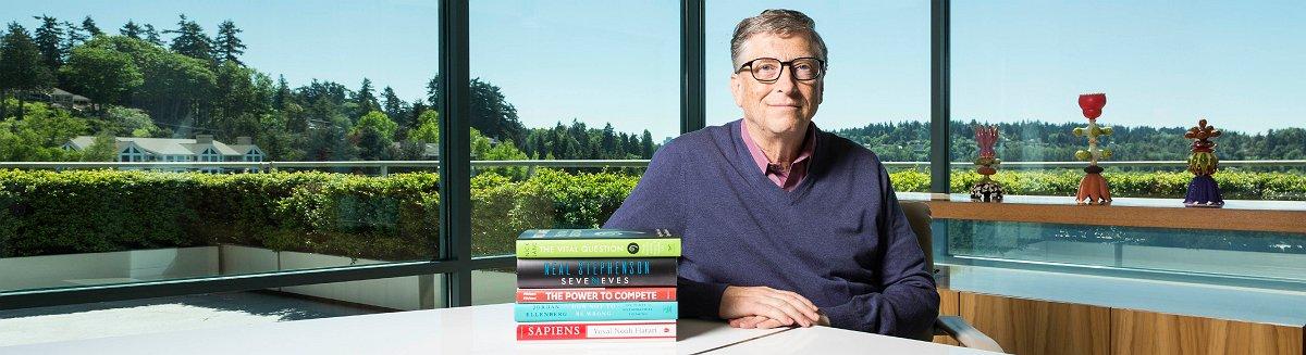 Bill Gates Leseliste für den Sommer