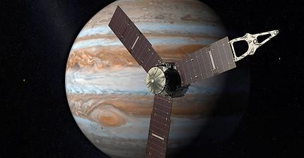 La sonda espacial estadounidense Juno entra en la órbita de Júpiter