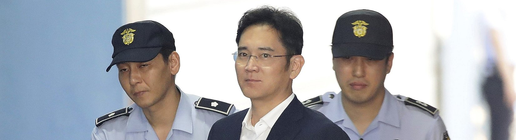 Samsung's vice chairman to spend five years behind bars