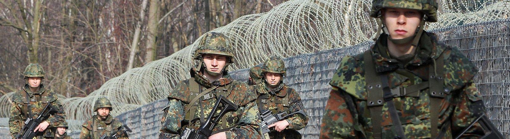Deutschland plädiert für europäische Armee
