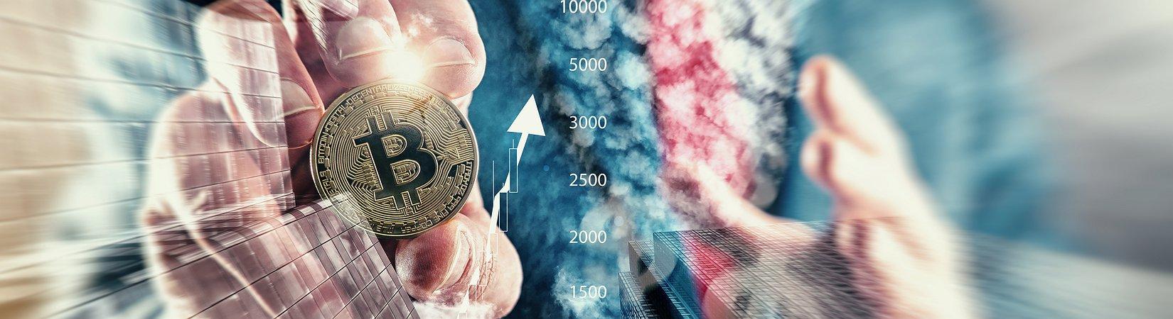 Mercado de criptomoedas volta a crescer