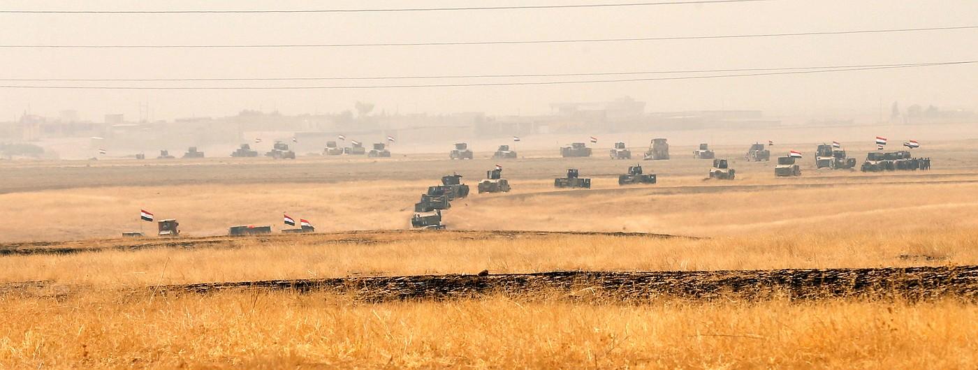 Фото дня: Ираская армия наступает на ИГИЛ в попытке взять Мосул