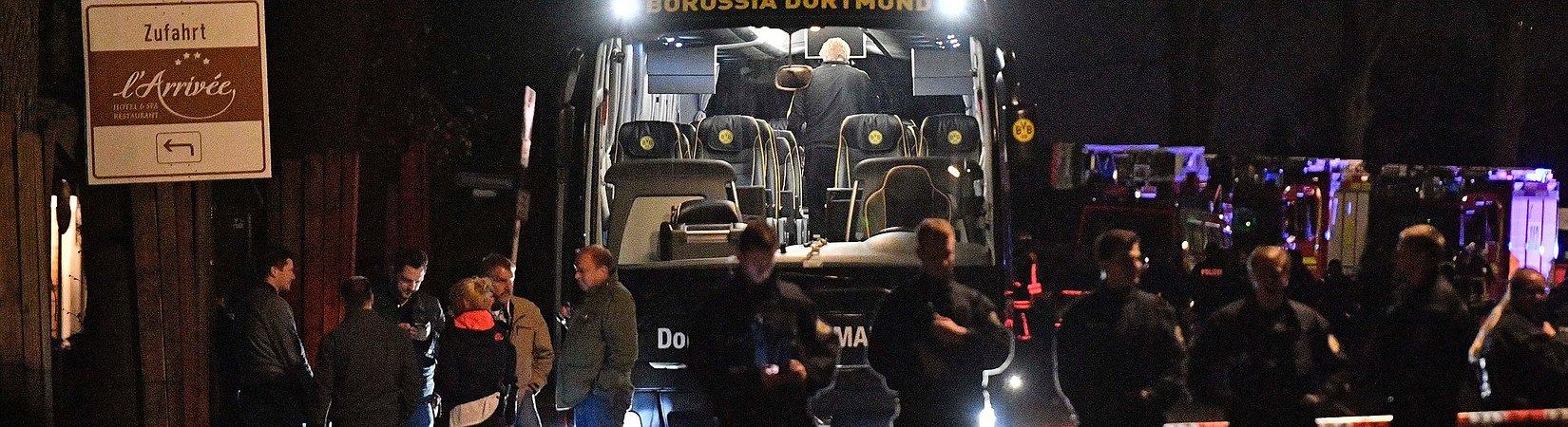 La policía alemana busca al autor del ataque al autobús del Borussia de Dortmund