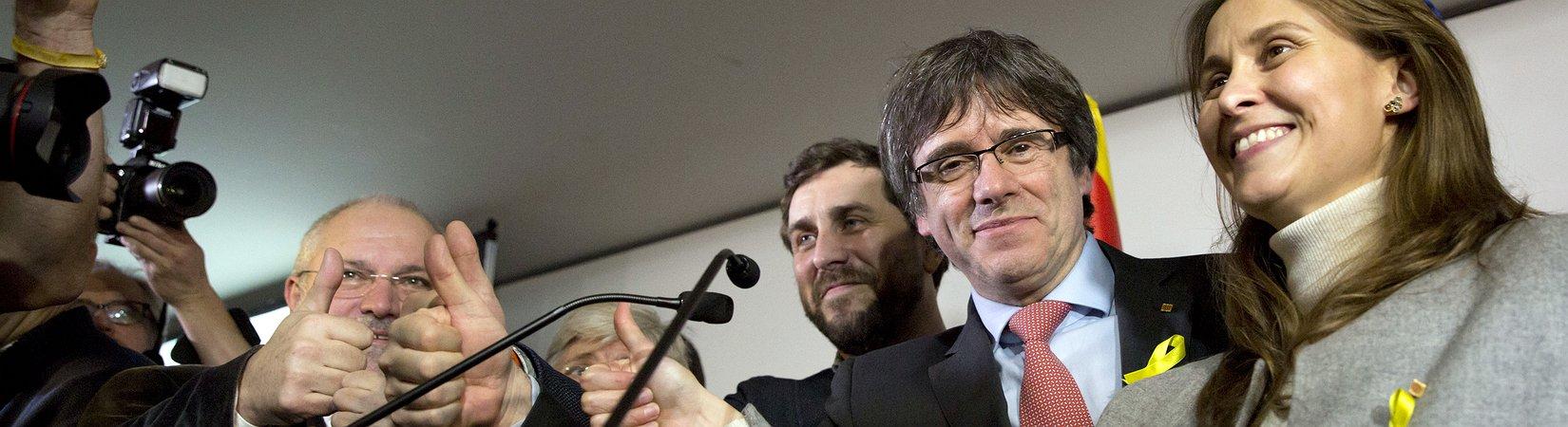 Independentistas catalães alcançaram maioria absoluta