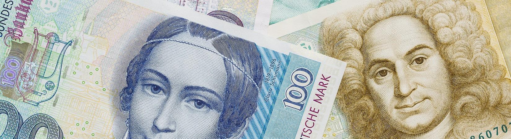 Una fortuna sotto il cuscino: i risparmiatori europei e i loro miliardi in lire, franchi e marchi