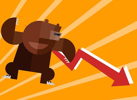 Gli orsi partono all'inseguimento, il bitcoin si avvicina a 5000 $