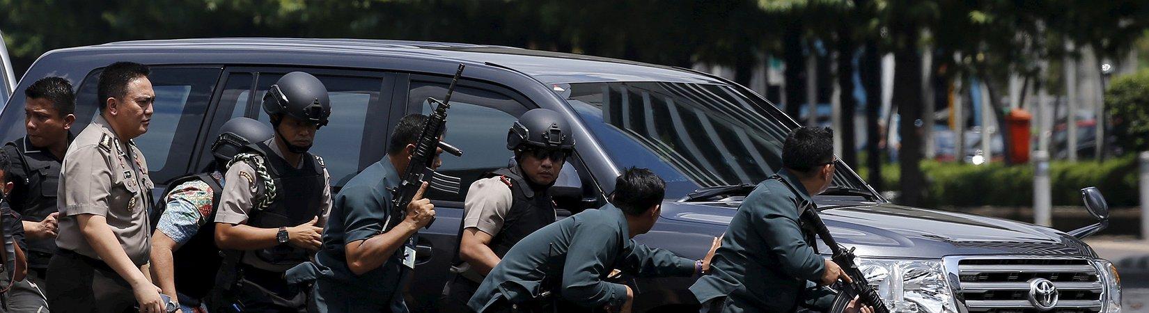 FOTO: Explosionen in Jakarta (18+)