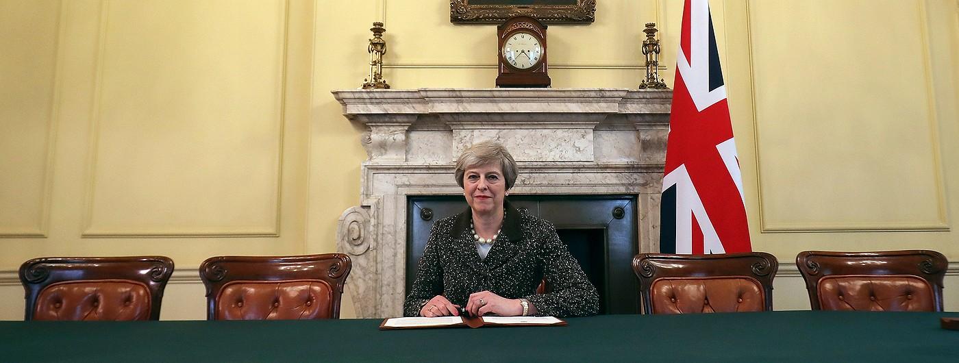 Великобритания начала официальную процедуру выхода из ЕС