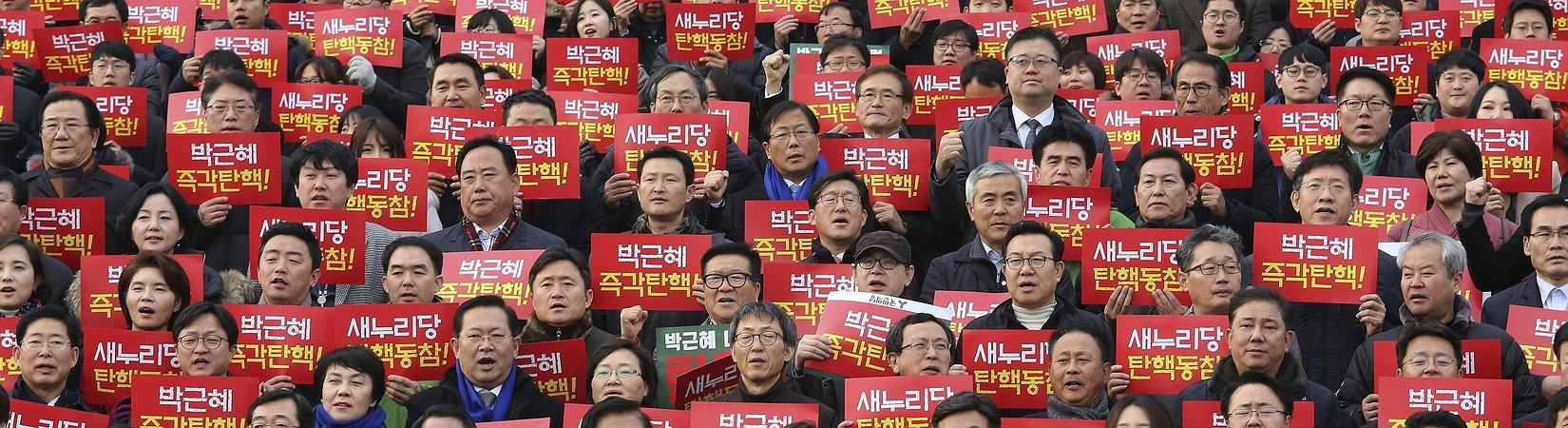 El Parlamento de Corea del Sur aprueba el juicio político contra Park Geun-hye
