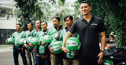 Cómo la indonesia GoJek está superando a Uber