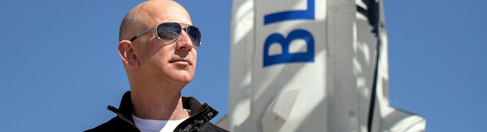 Jeff Bezos desvela su nuevo cohete espacial