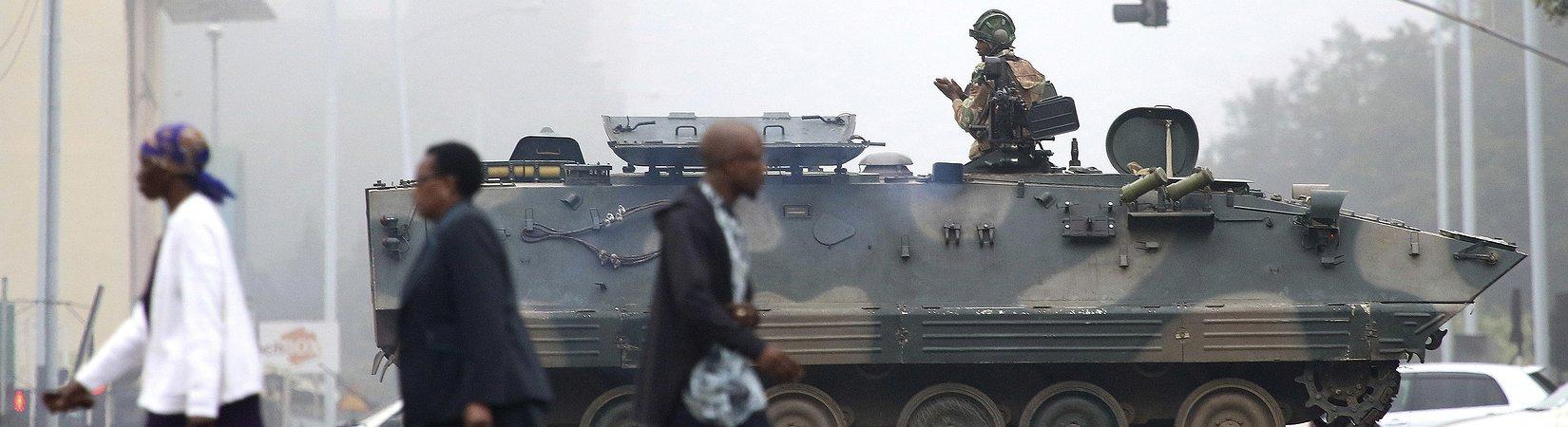 Tensión en Zimbabue ante un posible golpe de Estado