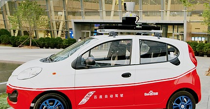 Baidu раскроет свои наработки в сфере беспилотных автомобилей