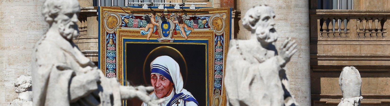 Mutter Theresa wurde heilig gesprochen