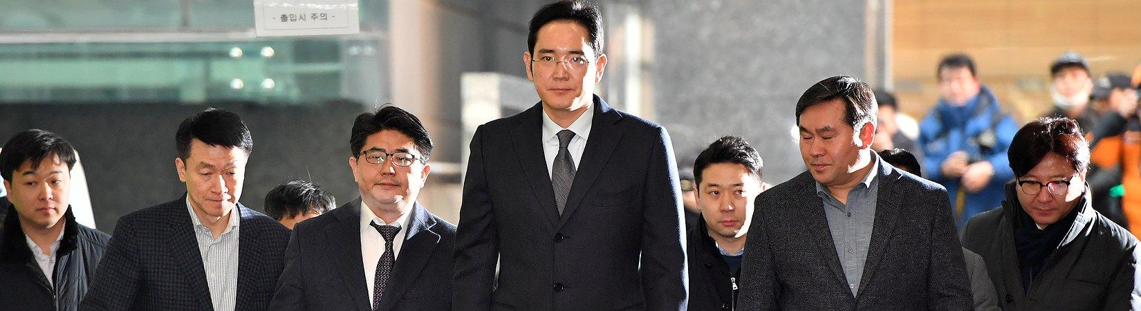 Detenido el heredero de Samsung por un escándalo de corrupción