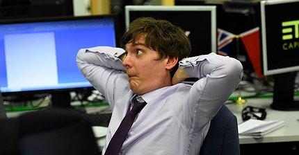 Фото дня: Реакция трейдеров на результаты выборов в Великобритании