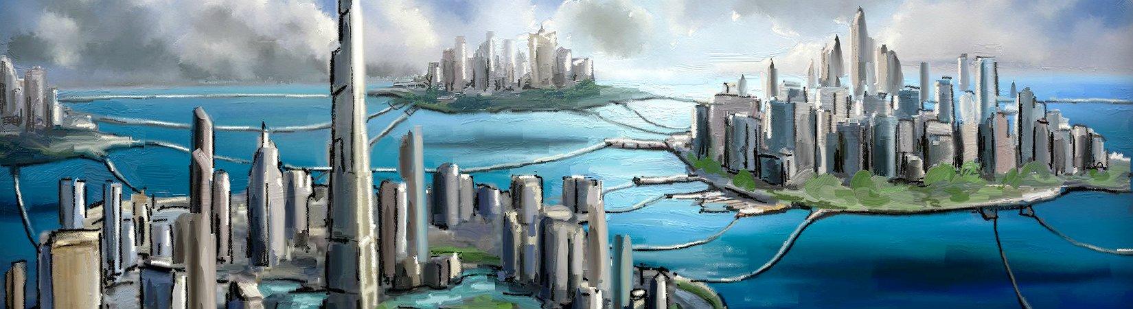 Умное будущее: Как строятся города на блокчейне.