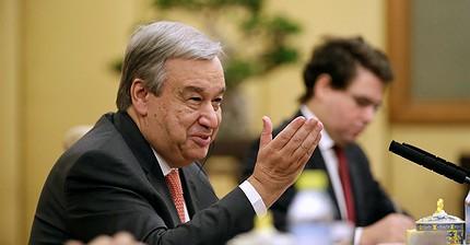 António Guterres, el nuevo Secretario General de la ONU