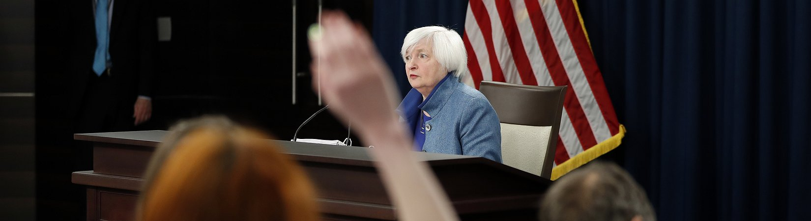 Stocks fall as the Fed's rate hike comes through