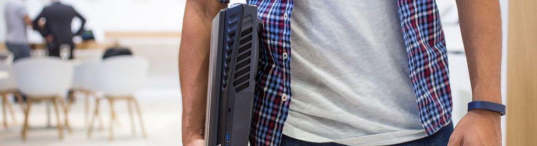 Predator 21X - das erste Notebook mit gebogenen Bildschirm
