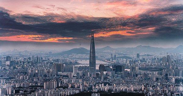 Dentro il grattacielo pi alto della corea del sud stile for Piani di vita del sud