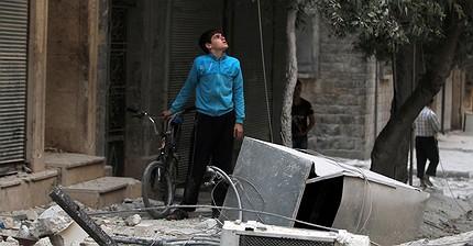 Rusia suspende su ofensiva en Alepo
