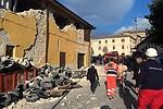 FOTOGRAFIAS: Terremoto na Itália