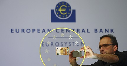 El BCE lanza el nuevo billete de 50 €