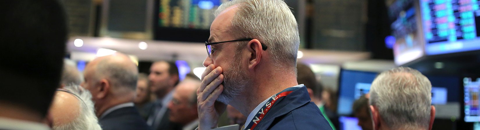 La primera gran caída del año en el mercado de valores de EE. UU.