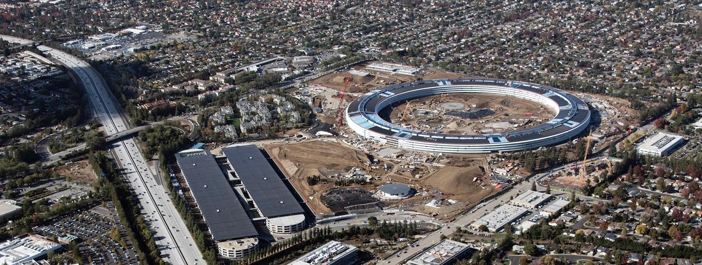 ФОТО: Загляните внутрь строящегося кампуса Apple