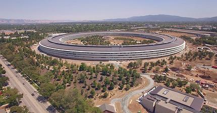 ФОТО: Как сейчас выглядит кампус Apple