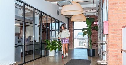 ¿Cómo es la oficina de Uber en Manhattan por dentro?