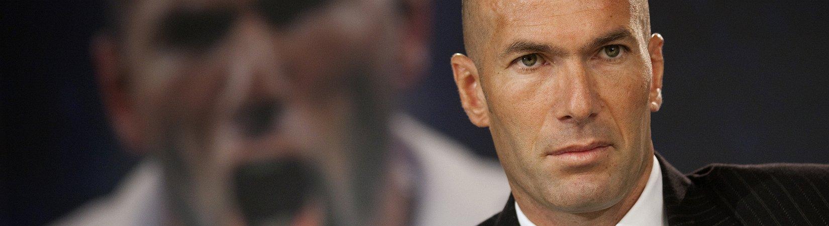 Die Magie von Zidane kommt auf die Bank von Real Madrid
