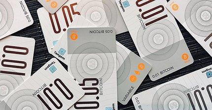 В Сингапуре выпустили первые биткоин-банкноты