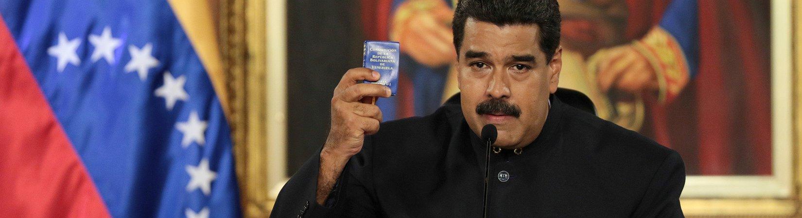Nicolás Maduro quer nova constituição