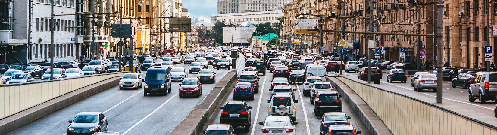 As 15 cidades com mais trânsito na hora de ponta