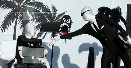 Фото дня: Антиглобалисты устроили демонстрацию в Германии