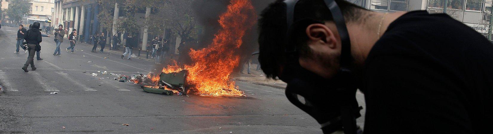 FOTO: Griechische Proteste