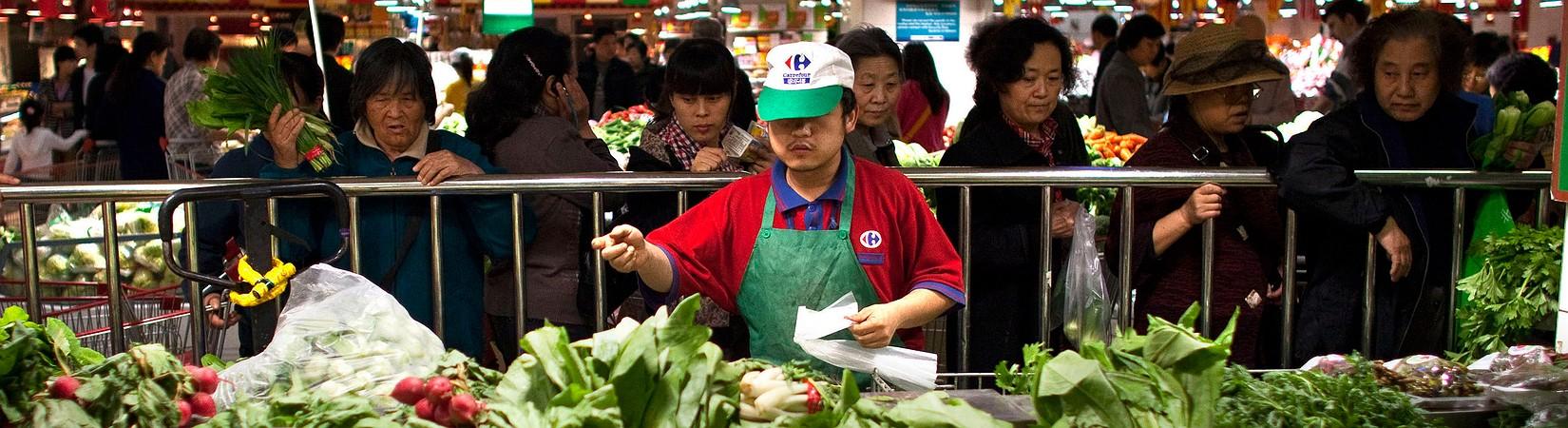 Los precios al productor en China suben por primera vez en casi cinco años