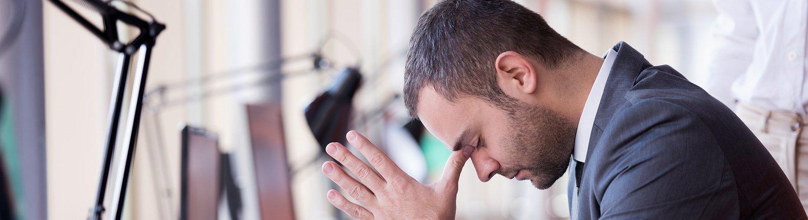 7 Sinais de que poderá estar com um esgotamento