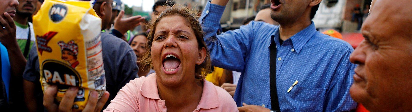 La hambruna se apodera de Venezuela