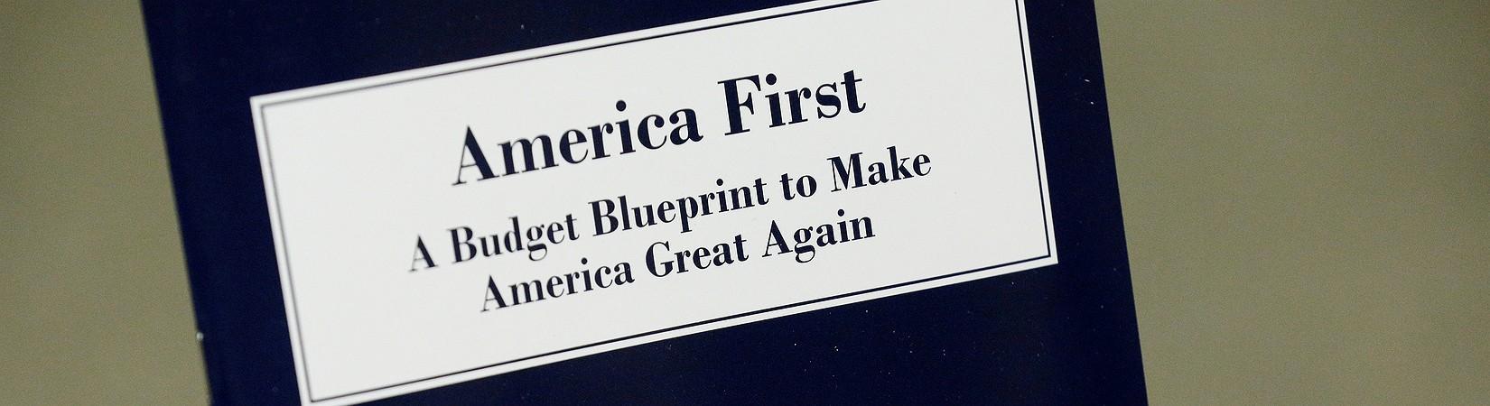 Trump outlines priorities in budget blueprint