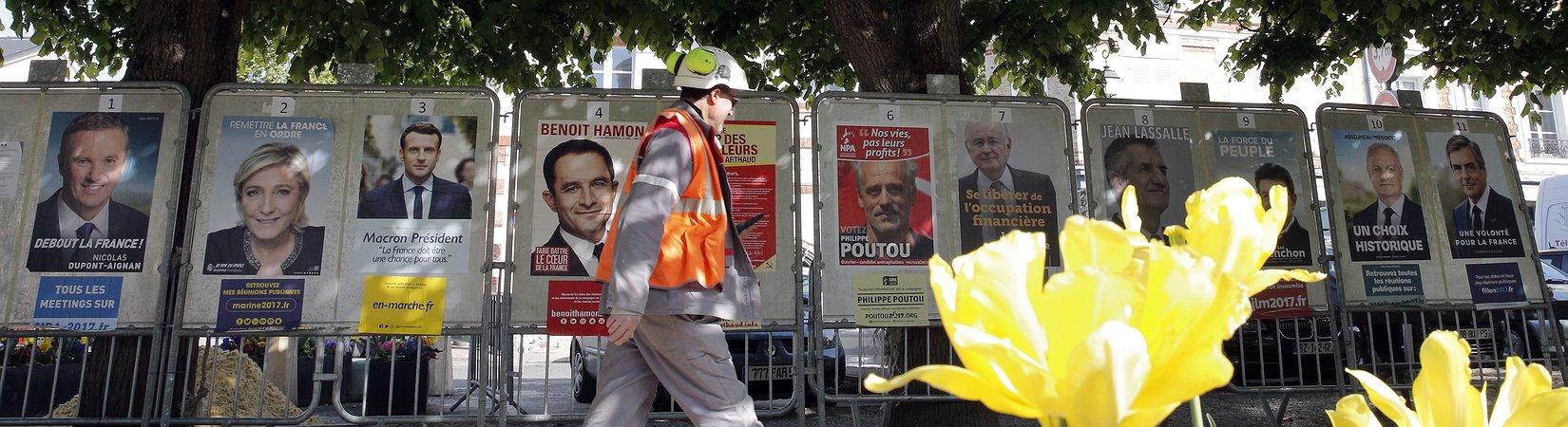 França: primeira volta das eleições presidenciais este domingo