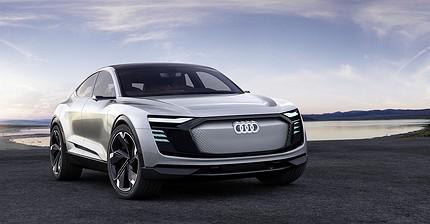 Audi представила электрокар e-Tron Sportback