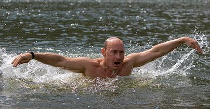 Бассейн, перепелиные яйца и никакого алкоголя: Один день с президентом Путиным