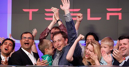 De los coches a la energía solar: la historia de Tesla en fotos