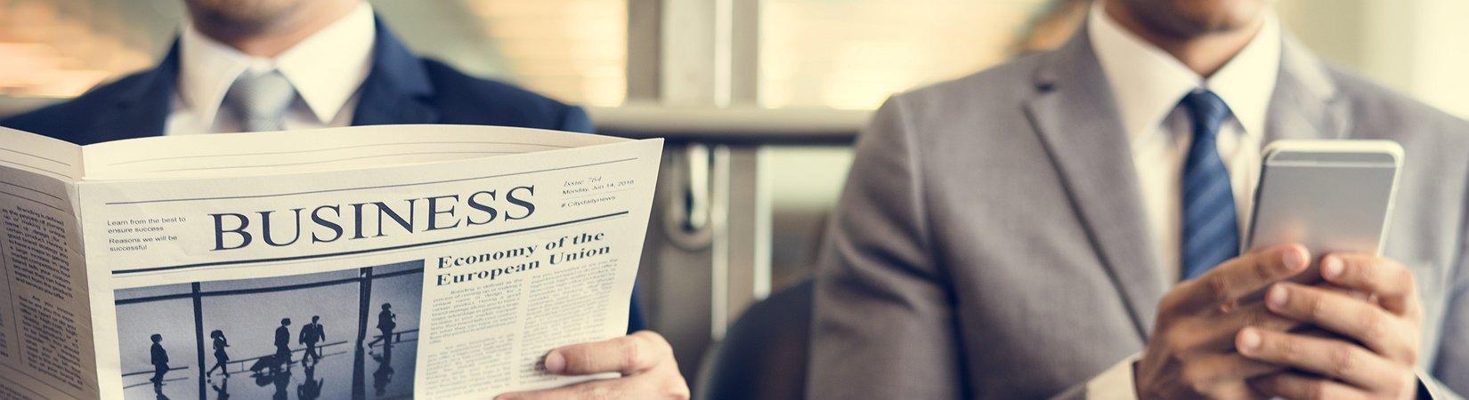 Desde Twitter hasta el Financial Times: ¿Qué leen las personas de éxito por la mañana?