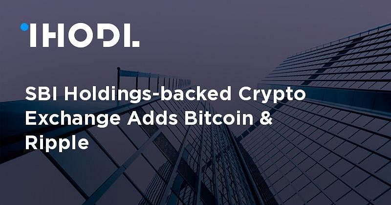 Sbi crypto exchange adds