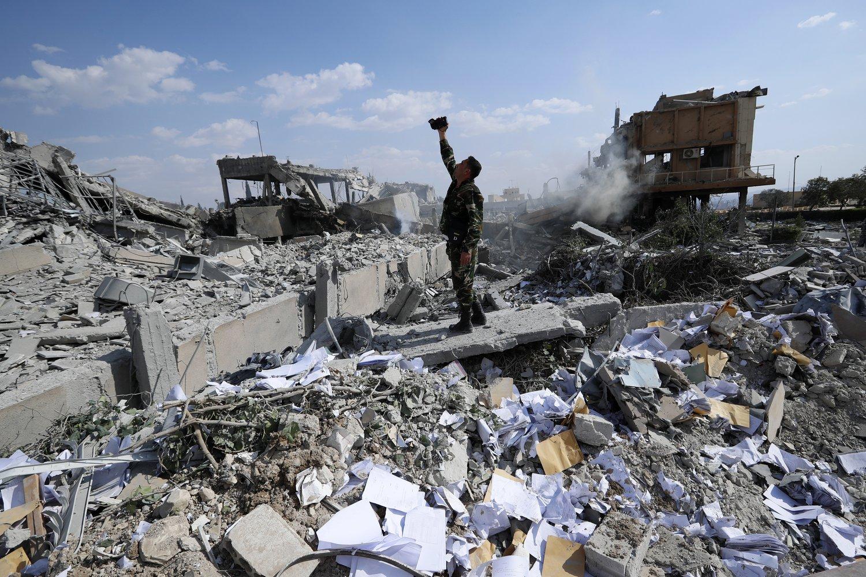 Руины войны