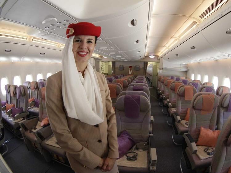 Авиакомпании выполняющие рейсы в Объединённые Арабские